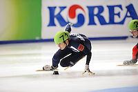 SCHAATSEN: DORDRECHT: Sportboulevard, Korean Air ISU World Cup Finale, 10-02-2012, Victor An RUS (71), ©foto: Martin de Jong