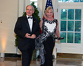 United States Senator Jim Risch (Republican of Idaho) and Vicki Risch arrive for the State Dinner hosted by United States President Donald J. Trump and First lady Melania Trump in honor of Prime Minister Scott Morrison of Australia and his wife, Jenny Morrison, at the White House in Washington, DC on Friday, September 20, 2019.<br /> Credit: Ron Sachs / Pool via CNP