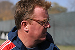 16 November 2007: Head coach Steve Nicol (SCO). The New England Revolution practiced at the RFK Stadium Auxiliary Field in Washington, DC two days before playing in MLS Cup 2007, Major League Soccer's championship game.