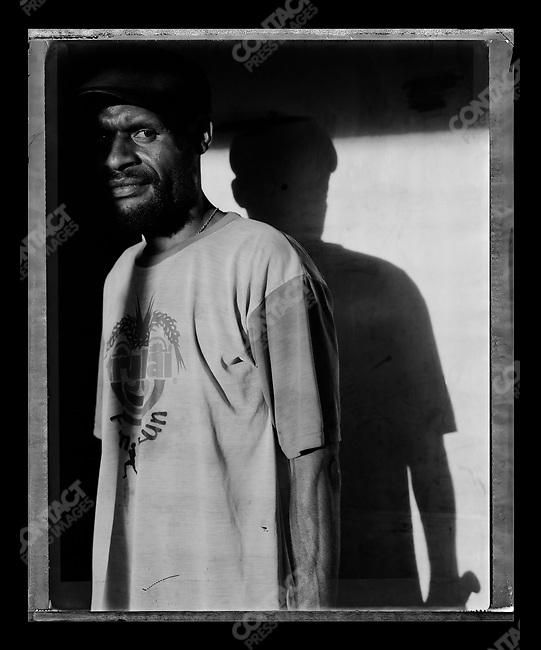 """Aita,"" Raskols, gangs of Port Moresby, Papua New Guinea, January 2004"