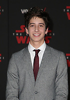 LOS ANGELES, CA - DECEMBER 9: Milo Manheim, at Premiere Of Disney Pictures And Lucasfilm's 'Star Wars: The Last Jedi' at Shrine Auditorium in Los Angeles, California on December 9, 2017. Credit: Faye Sadou/MediaPunch /NortePhoto.com NORTEPHOTOMEXICO
