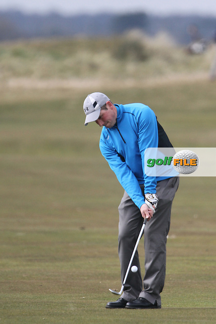 Derek Downie (Sutton) at the Hilary Golf Society at Portmarnock Golf Club...(Photo Jenny Matthews/www.golffile.ie)