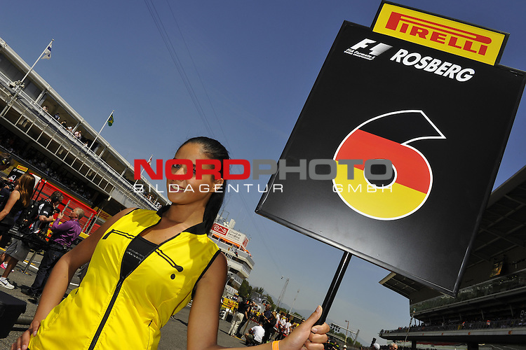 07.05 - 10.05.2015, Circuit de Catalunya, Barcelona, ESP, Formel 1, 2015,  im Bild Spanish F1 GP Impressions - Grid Girls<br />  Foto &copy; nph / Mathis
