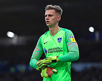 Alex Bass of Portsmouth during Portsmouth vs AFC Wimbledon, Sky Bet EFL League 1 Football at Fratton Park on 11th January 2020