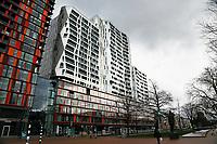 Nederland Rotterdam 2017. Nieuwbouw aan de Mauritsweg. Foto Berlinda van Dam / Hollandse Hoogte