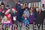 Part of the audience watching the various shows on stage  in the square in Abbeyfeale on Sunday.