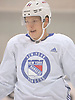 Ville Meskanen #81 skates during New York Rangers Prospect Camp at Madison Square Garden Training Center in Greenburgh, NY on Tuesday, June 26, 2018.