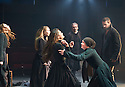 The Crucible by Arthur Miller, directed by Yael Farber. With Richard Armitage as John Proctor [beard], , Samantha Corley as Abigail Williams. Opens at The Old Vic Theatre  on 3/7/14  pic Geraint Lewis