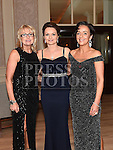 Karen Duffy, Kate Kerley and Alison Duffy pictured at the Ardee Traders annual awards night in the Nuremore Hotel. Photo:Colin Bell/pressphotos.ie