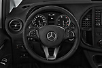 Car pictures of steering wheel view of a 2019 Mercedes Benz Metris Base 5 Door Cargo Van
