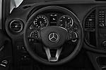 Car pictures of steering wheel view of a 2019 Mercedes Benz Metris Base 5 Door Cargo Van