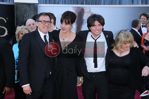 David O. Russell and family<br /> at the 85th Annual Academy Awards Arrivals, Dolby Theater, Hollywood, CA 02-24-13<br /> David Edwards/DailyCeleb.com 818-249-4998