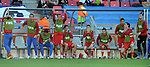 FUDBAL, PORT ELIZABETH, 18. Jun. 2010. - Klupa Srbije. Utakmica 2. kola grupe D Svetskog prvenstva u fudbalu izmedju Nemacke i Srbije. Foto: Nenad Negovanovic
