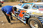 Feb 09, 2009; 4:24:34 PM; Barberville, FL, USA; UMP DIRTcar Racing Series for the 38th Annual ALLTEL DIRTcar Nationals by UNOH at Volusia Speedway Park.  Mandatory Credit: (thesportswire.net)