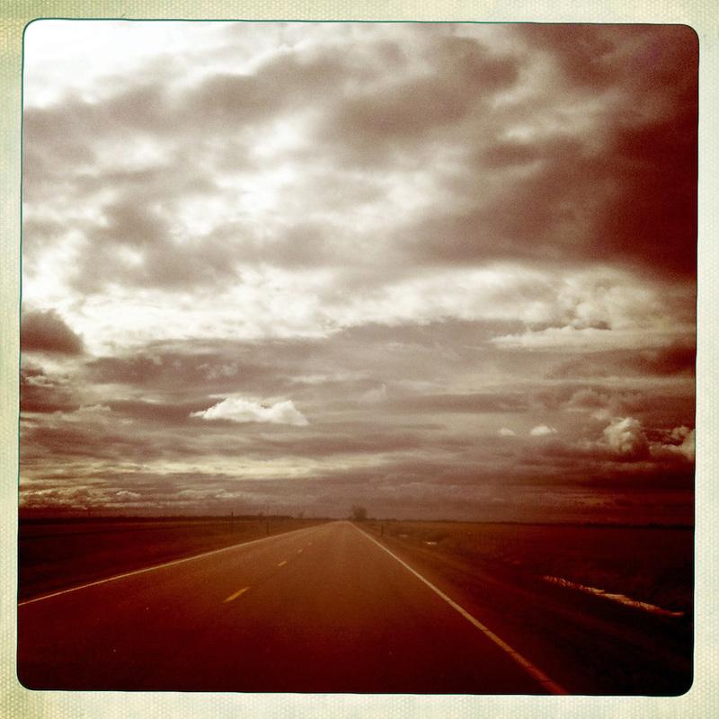 View seen along Highway 30 in Nebraska, USA.