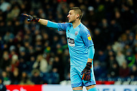 25th February 2020; The Hawthorns, West Bromwich, West Midlands, England; English Championship Football, West Bromwich Albion versus Preston North End; Sam Johnstone of West Bromwich Albion