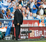 A dejected looking Rafael Benitez manager of Newcastle United during the premier league match at the John Smith's Stadium, Huddersfield. Picture date 20th August 2017. Picture credit should read: Simon Bellis/Sportimage