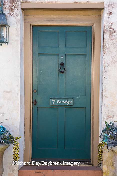 63412-01107 Blue door in St Augustine, FL