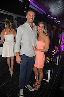 Alex Scott and Lauren Tarola attend The Friends of Finn by the Shore party at Finale East on Aug. 2, 2014 (Photo by Taylor Donohue/Guest of a Guest)