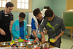 Education high school cooking elective taught by volunteers