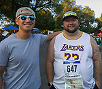 Simon Guo and Gary Marsh during the 51st Annual Journal Jog in  Reno on Sunday, Sept. 8, 2019.