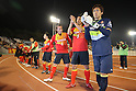 Nagoya Grampus team group, MARCH 7, 2012 - Football : AFC Champions League 2012 Qualifying Round 1st match between Nagoya Grampus 2-2 Seongnam Ilhwa Chunma Sports Club at Mizuho Athletic Stadium in Nagoya, Aichi, Japan. (Photo by Akihiro Sugimoto/AFLO SPORT) [1080]