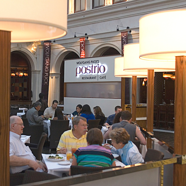 Customers, Postrio Restaurant, Las Vegas, Nevada