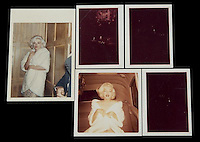 "Pictured: The only colour photographs believed to be in existence of Marilyn Monroe when she sang ""Happy Birthday Mr President"" to JF Kennedy<br />