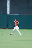 AZL Giants center fielder Nick Hill (22) on defense during a game against the AZL Angels on July 10, 2017 at Scottsdale Stadium in Scottsdale, Arizona. AZL Giants defeated the AZL Angels 3-2. (Zachary Lucy/Four Seam Images)