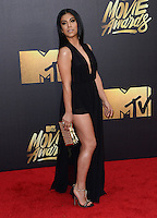 Chrissie Fit @ the 2016 MTV Movie Awards held @ the Warner studios.<br /> April 9, 2016