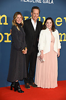 LONDON, UK. October 19, 2018: Amy Nauiokas, Richard E Grant &amp; Melissa McCarthy at the London Film Festival screening of &quot;Can You Ever Forgive Me&quot; at the Cineworld Leicester Square, London.<br /> Picture: Steve Vas/Featureflash