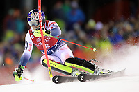 January 8th 2020, Madonna di Campiglio, Italy;  FIS Alpine Ski World Cup Men's Night Slalom in Madonna di Campiglio, Italy on January 8, 2020, Alexis Pinturault (FRA) - Editorial Use