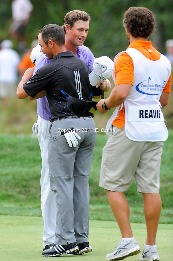 Championship Round, 2011 Deutsche Bank Championship, PGA Tour, FedEx Cup Playoffs