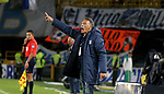 Millonarios venció como local 2-0 (4-2, en el global) a Atlético Bucaramanga. Cuartos de final vuelta Liga Águila I-2017.