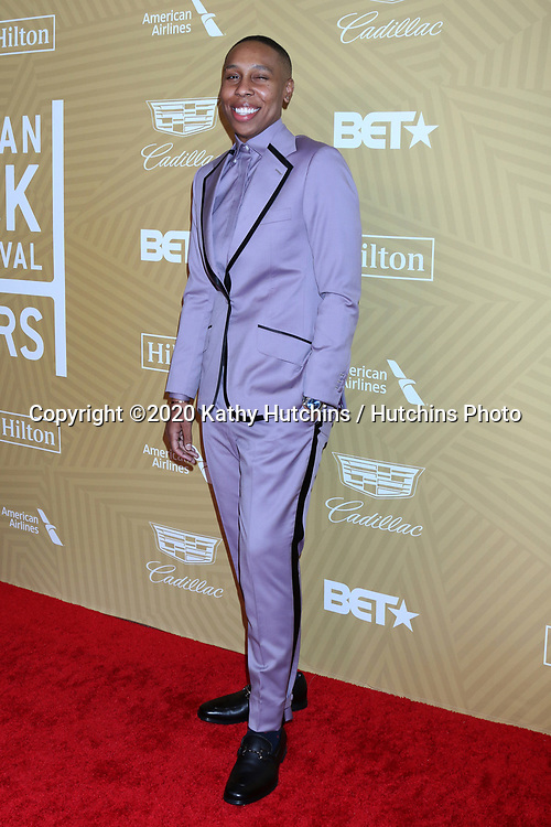 LOS ANGELES - FEB 23:  Lena Waithe at the American Black Film Festival Honors Awards at the Beverly Hilton Hotel on February 23, 2020 in Beverly Hills, CA