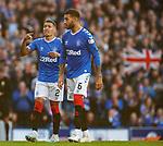 28.09.2018 Rangers v Aberdeen: James Tavernier and Connor Goldson discuss tactics