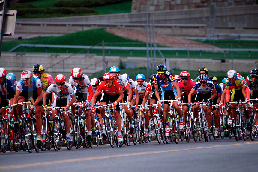 Bike race.