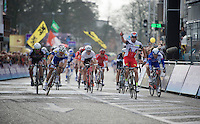 A 5th win in as many races in about 8 days... an incredible streak for race winner Alexander Kristoff (NOR/Katusha)<br /> <br /> 103rd Scheldeprijs 2015