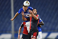 Albin Ekdal of Sampdoria and Goran Pandev of Genoa during the Serie A football match between UC Sampdoria and Genoa CFC at stadio Marassi in Genova (Italy), July 22th, 2020. Play resumes behind closed doors following the outbreak of the coronavirus disease. <br /> Photo Matteo Gribaudi / Image Sport / Insidefoto