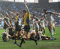 Wasps v Newcastle Falcons, Aviva Premiership. Febuary 6, 2016