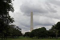 SÃO PAULO, SP - 04.11.2015 - CLIMA-SP - Clima nublado e abafado na região do Parque do Ibirapuera na zona sul da cidade de São Paulo na tarde desta quarta-feira (04) (Foto: Fabricio Bomjardim / Brazil Photo Press)
