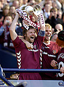 13/05/2006         Copyright Pic: James Stewart.File Name : sct_jspa10_hearts_v_gretna.HEARTS CAPTAIN STEEVEN PRESSLEY LIFTS THE SCOTTISH CUP........Payments to :.James Stewart Photo Agency 19 Carronlea Drive, Falkirk. FK2 8DN      Vat Reg No. 607 6932 25.Office     : +44 (0)1324 570906     .Mobile   : +44 (0)7721 416997.Fax         : +44 (0)1324 570906.E-mail  :  jim@jspa.co.uk.If you require further information then contact Jim Stewart on any of the numbers above.........