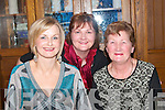 CELEBRATE: Theresa McCarthy, Geraldine Histon and Mary Curtin, celebrated woman's Christmas in Leen's Hotel Abbeyfeale on Saturday night..   Copyright Kerry's Eye 2008