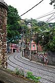 BRAZIL, Rio de Janiero, Santa Theresa, Street Scene