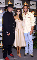 Montgomery Gentry w/ Ali Landry at the first ever CMT Flameworthy Video Music Awards at the Gaylord Entertainment Center in Nashville Tennesee. 6/12/02<br /> Photo by Rick Diamond/PictureGroup