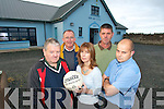 TOP TEAM: Membere of Renard GAA Club who are making their magnificent new facilities available to the public..Front L/r; Paul McMahon (Southern Gaels Ladies GAA), Nuala mcDaid, Will Galvin..Back L/r. Jimmy O'Sullivan  and Niall Lyons.   Copyright Kerry's Eye 2008