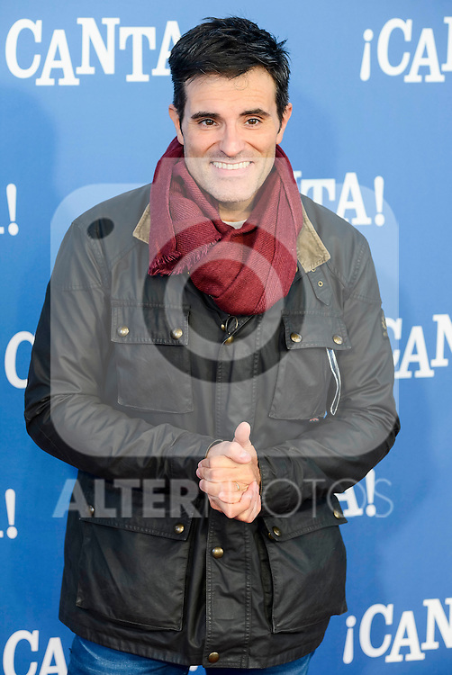 "Luis Larrodera attends to the premiere of the film ""¡Canta!"" at Cines Capitol in Madrid, Spain. December 18, 2016. (ALTERPHOTOS/BorjaB.Hojas)"