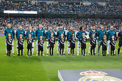 13th September 2017, Santiago Bernabeu, Madrid, Spain; UCL Champions League football, Real Madrid versus Apoel; Team Group Line-up