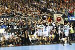 12.01.2019, Mercedes Benz Arena, Berlin, GER, Germany vs. Brazil, im Bild <br /> Die Deutsche Mannschaft, Cheftrainer (Head Coach) Christian Prokop (GER)<br />      <br /> Foto &copy; nordphoto / Engler