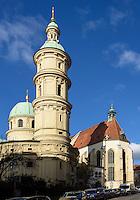 Mausoleum und Dom, Graz, Steiermark, &Ouml;sterreich, UNESCO-Weltkulturerbe<br /> Mausoleum and cathedral, Graz, Styria, Austria, heritage site